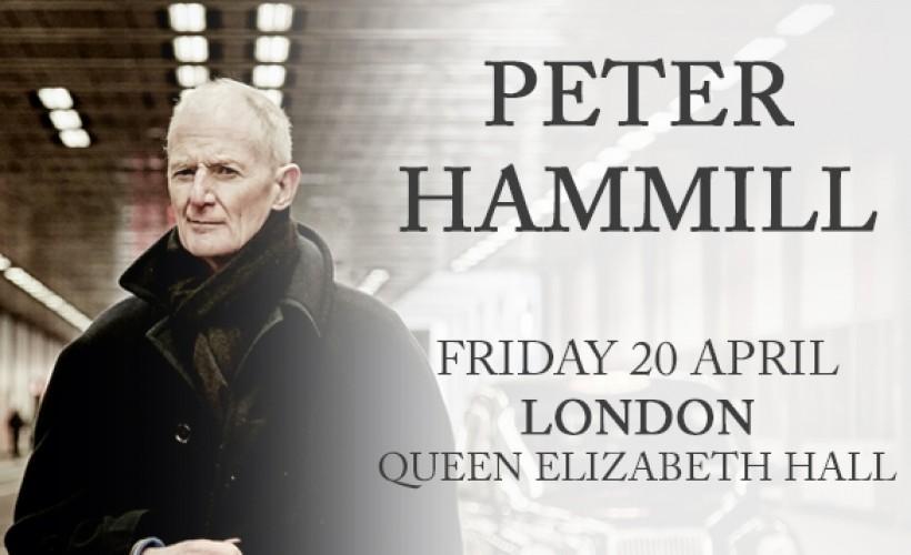 Peter HAMMILL au Queen Elizabeth Hall à Londres (UK), le 20 avril 2018