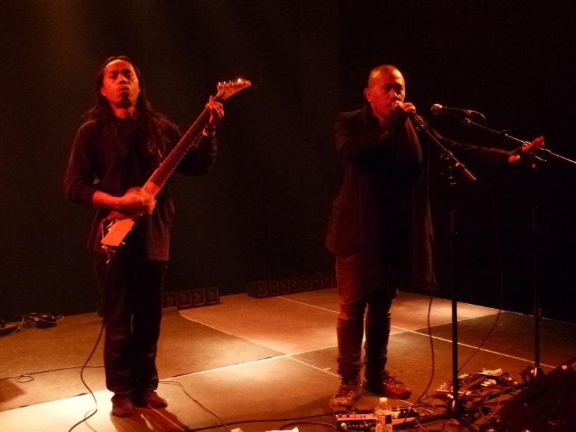 SENYAWA, Les 15 ans du label Sublime Frequencies, au Théâtre Berthelot à Montreuil (93), novembre 2018