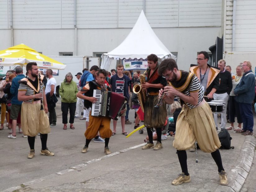 CASTOR et POLLUX au Festival Temps Fête de Douarnenez, juillet 2018