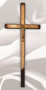 Хрест косичка світлий