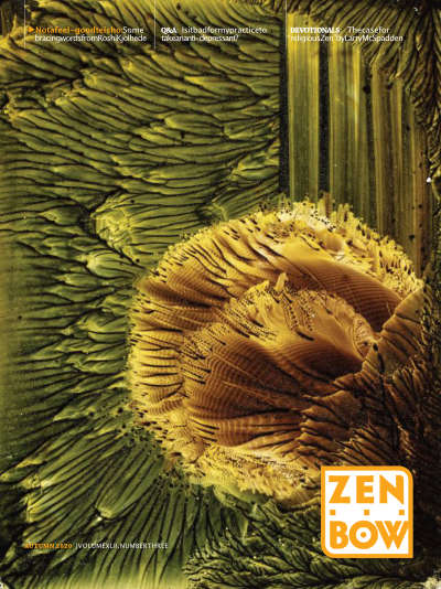 Cover of Fall 2020 issue of Zen Bow