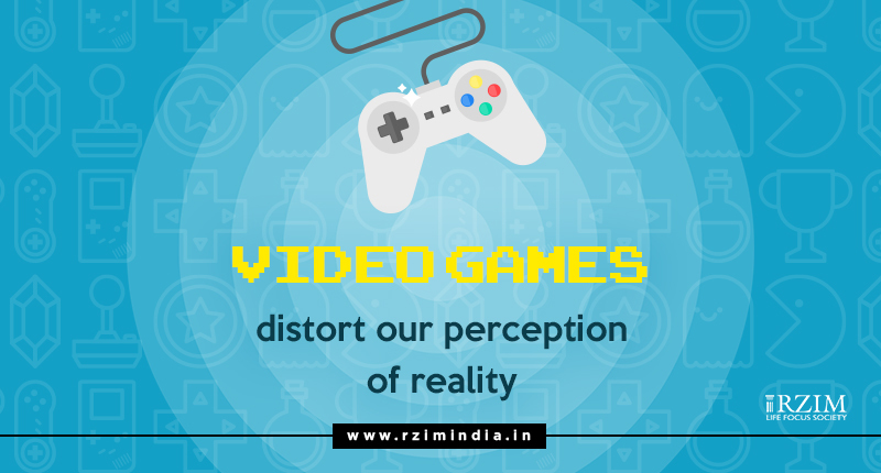 Video Games Distort our Perception of Reality