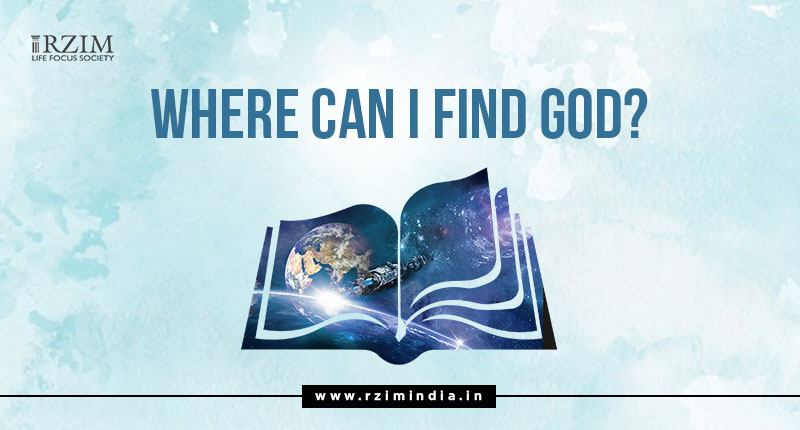 Where Can I Find God?