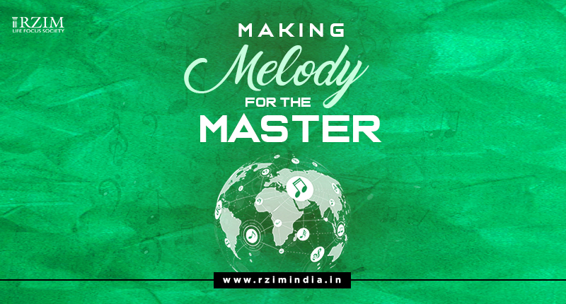 Making melody for the Master