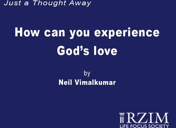 How Can You Experience God's Love