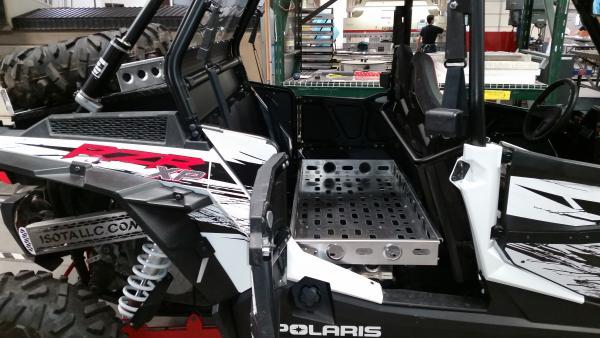 Rear Seat Cargo Rack Polaris RZR Forum RZR