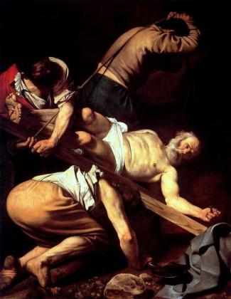 Caravaggio - Ukrzyżowanie św. Piotra