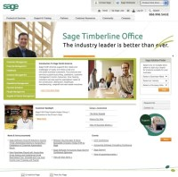 Sage new logo and web site