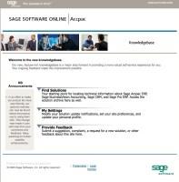 sage crm support knowledgebase