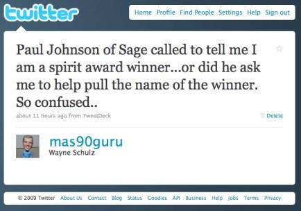 twitter schulz consulting spirit award