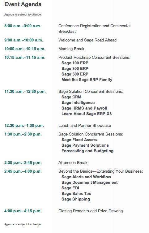 sage symposium event