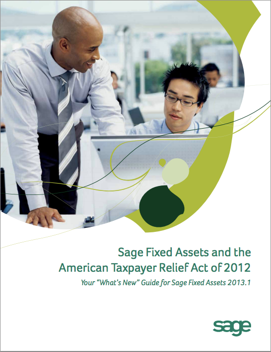 Sage Fixed Assets 2013.1 Available For Download