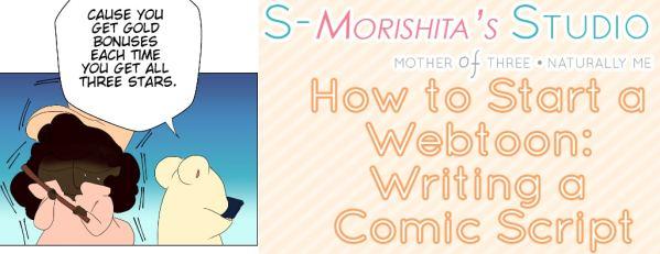 how to write a comic script