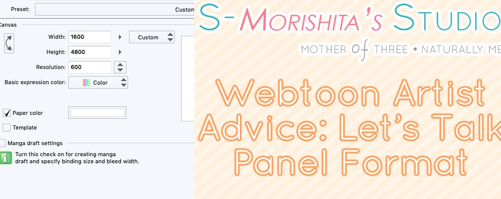 Webtoon Artist Advice: Let's Talk Panel Format