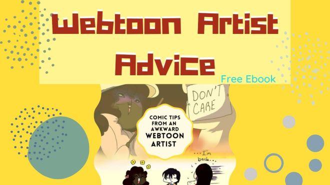 This image has an empty alt attribute; its file name is Webtoon-Artist-Advice.jpg