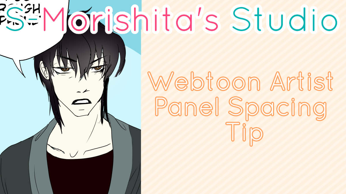 Webtoon Comic Artist Panel Spacing Tip