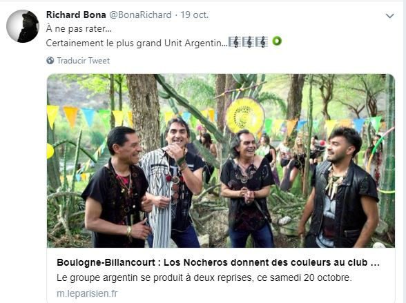 Richard Bona Twit nocheros