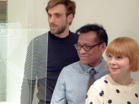 with Stine Bidstrup and Damien Francois