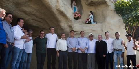 Escadaria do cristo ressuscitado é inaugurada em Solidão
