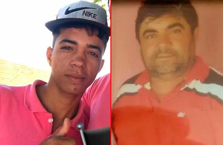 Vítima José Klaiton e acusado Antônio Ângelo – Foto: Reprodução