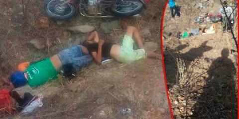Pai e filho morrem em grave acidente em Maturéia