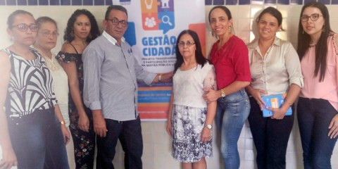 Prefeito Djalma Alves participa das Oficinas do Projeto Gestão Cidadão