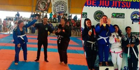 Solidanense Iara Neyre conquista o ouro no 5º campeonato pernambucano de Jiu-Jitsu