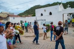 Cortejo fúnebre de Doralice Nobre – Foto: João Santos/ S1 Notícias