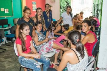 curso de manicure na Secretaria de Cultura de Solidão