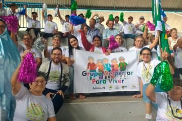 Solidão participa dos Jogos Municipais da Terceira Idade em Afogados da Ingazeira