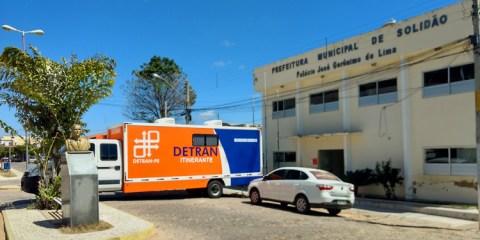 Detran Itinerante em Solidão – Foto: João Santos