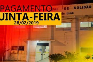 Prefeito Djalma Alves confirma pagamento de funcionários ativos e inativos