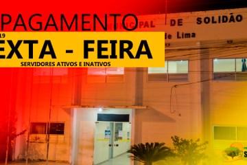 Prefeitura de Solidão confirma pagamento de março de 2019
