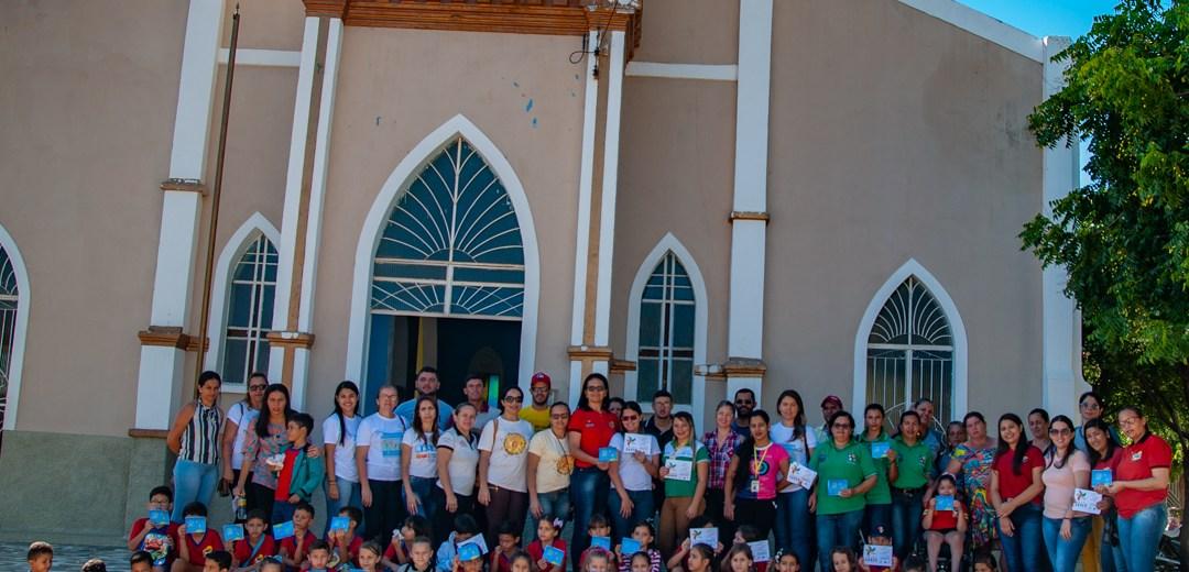 Caminhada no Dia Nacional de Combate ao Trabalho Infantil é realizada em Solidão