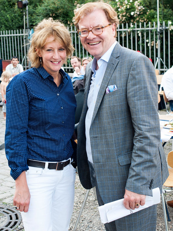 Barbara Meyer & André Schmitz