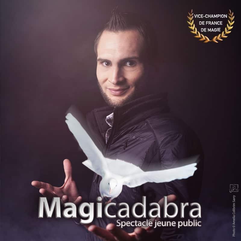Spectacle jeune public magie pour enfant