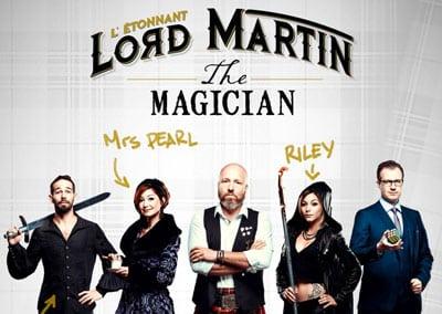 L'étonnant Lord Martin