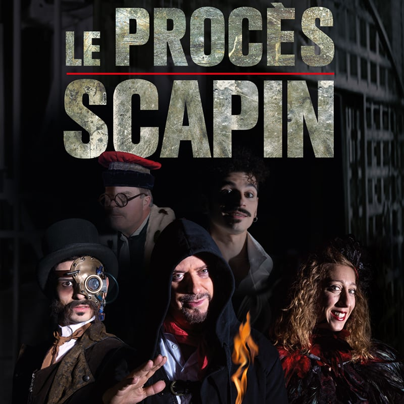 spectacle procès scapin francois normag