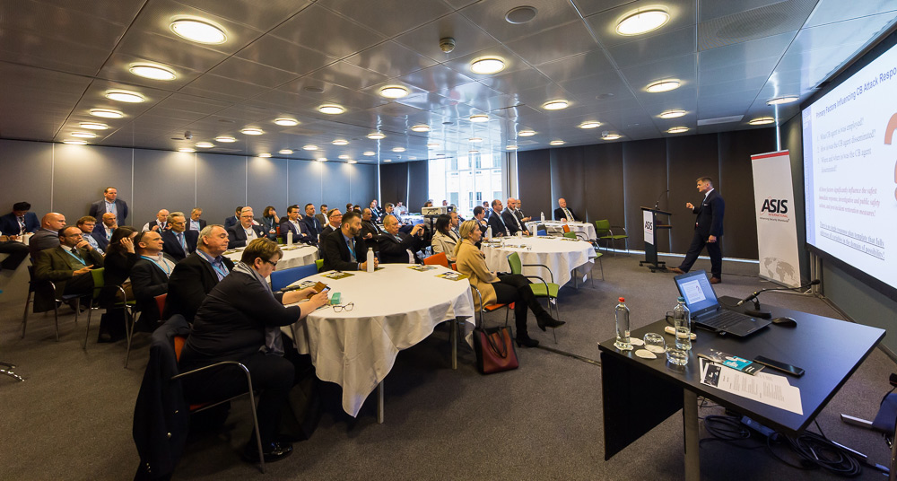 Chemical and Biological Terrorism Seminar at 2019 ASIS Europe