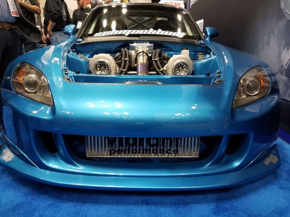 twin turbo j series s2000 front