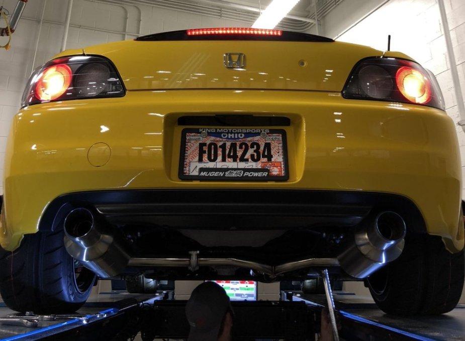 2001 S2000 Low Rear