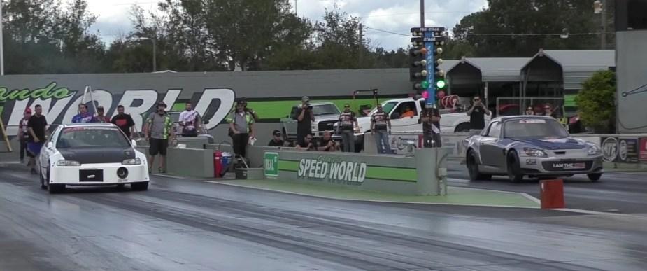 S2KI.com Honda S2000 turbo drag race blows roof off 190mph