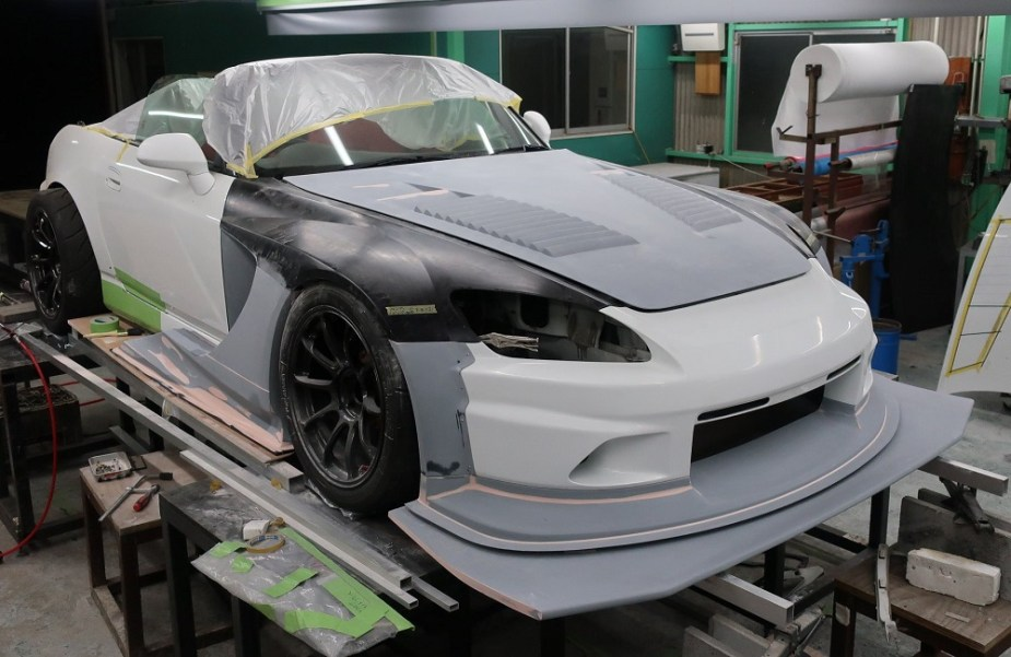 S2KI.com Voltex S2000 Widebody Aero Kit