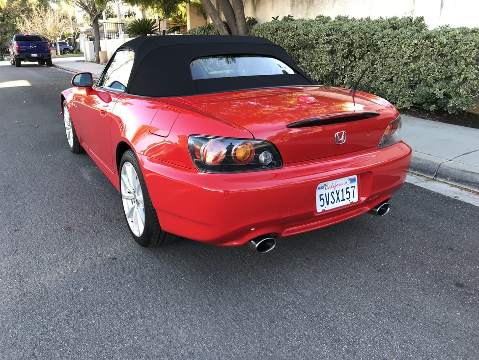 2006 New Formula Red AP2 S2000 For Sale