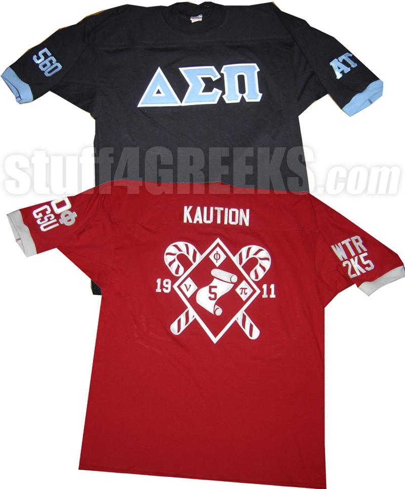 Custom Greek Block Letter Shirts | Jidiletter co