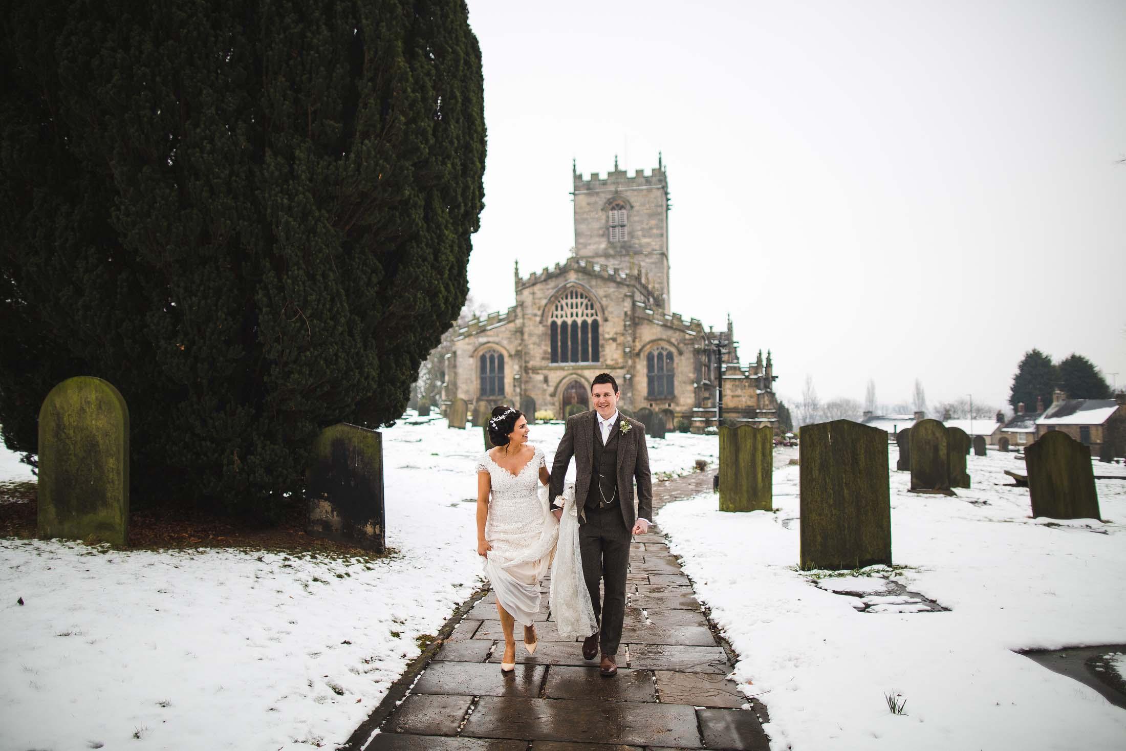 Ecclesfield church wedding