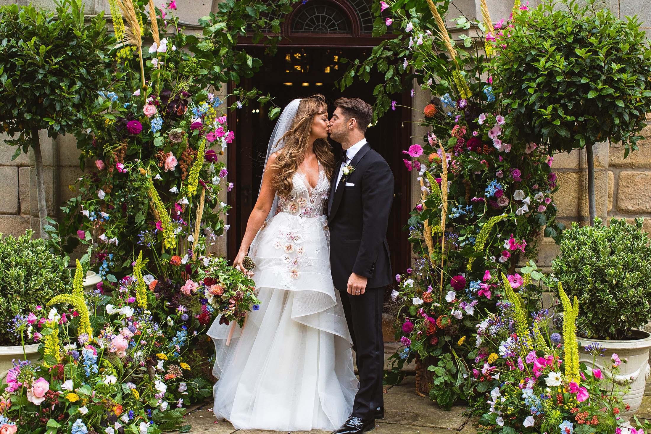 floral arch weddings