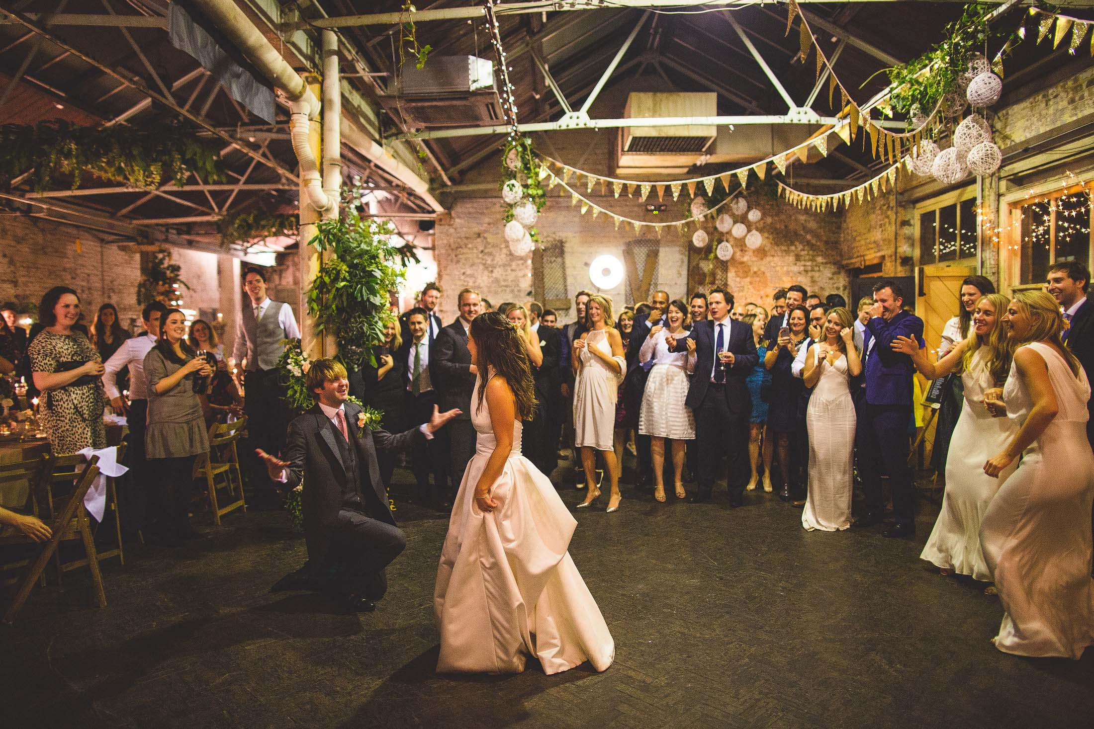 industrial london wedding venue