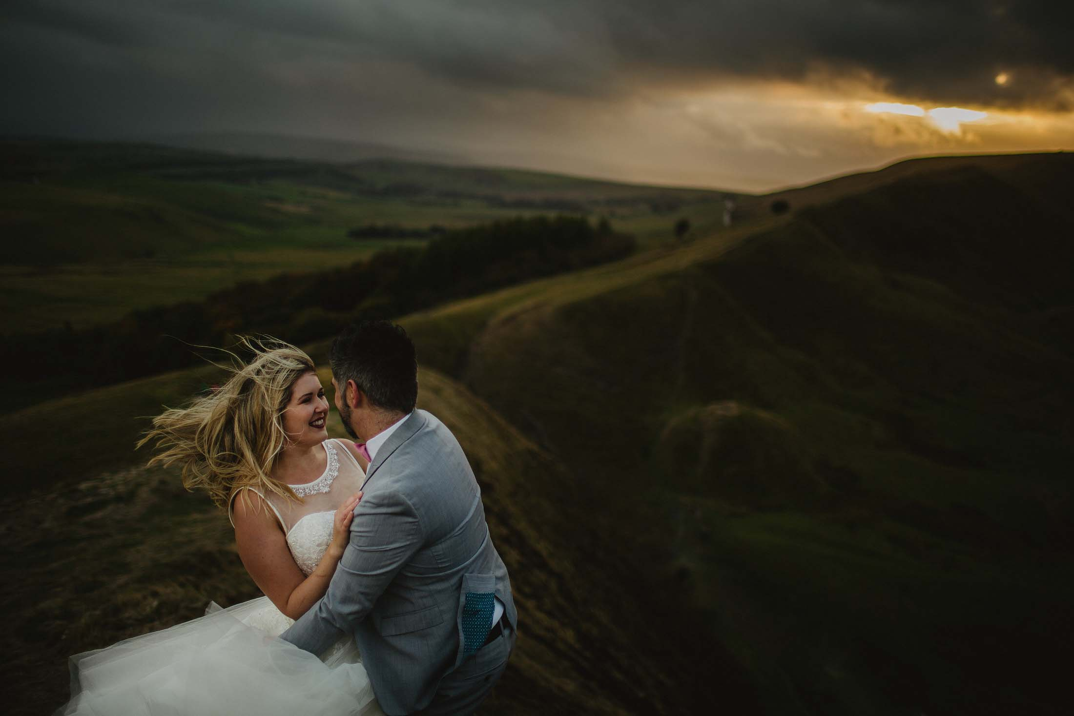 married in the peak district