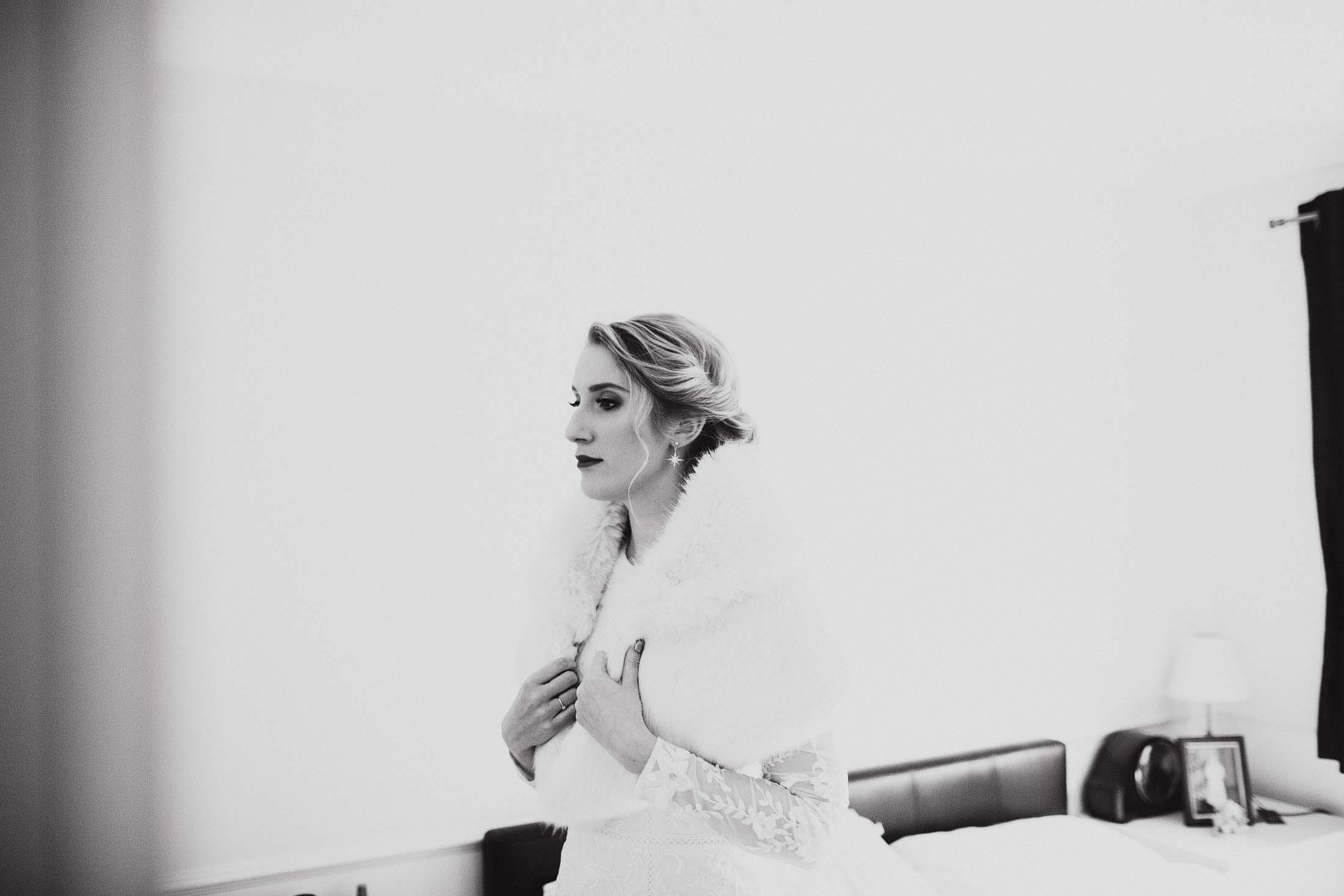 winter wedding photography